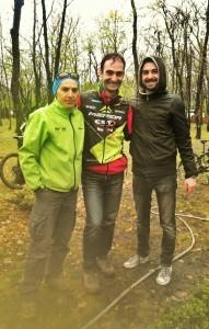 Marian Marin, Marcian Enache-Poti, Dan Leahu. Gârboavele XC 2014