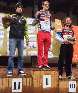 Kelemen Arpad (NoMad Merida CST) pe podium la Gârboavele XC 2014